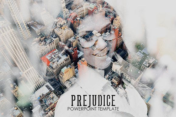 Prejudice Powerpoint Templa-Graphicriver中文最全的素材分享平台