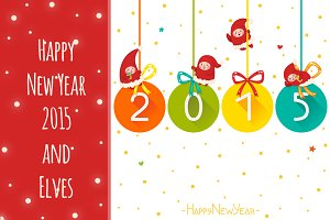 Happy New Year 2015 and Elves