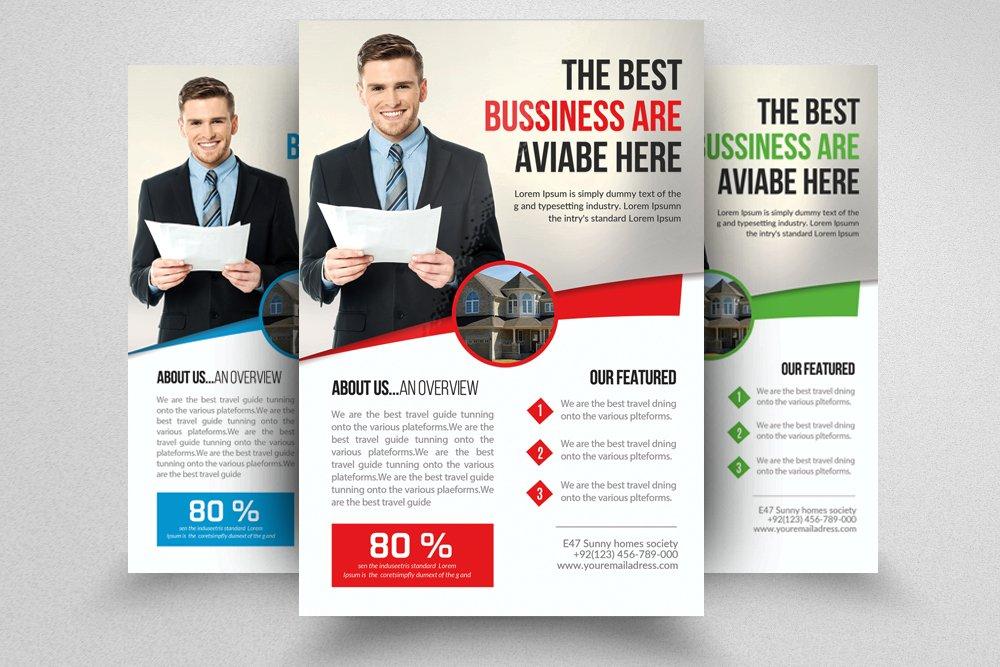 real estate agent flyer flyer templates creative market