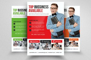 Computer Repair Flyer Template