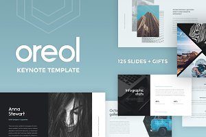 Oreol Keynote Template