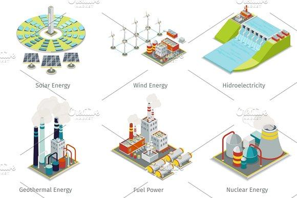 Power Plant Icons