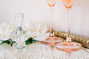 Feminine Blush and Gold Wedding