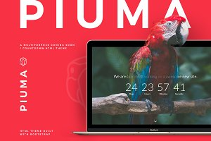 PIUMA - Multipurpose Countdown Theme