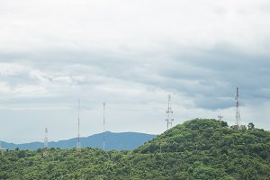 Communication Signal Tower