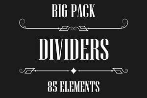 Dividers collection -big pack