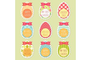 Easter eggs for Easter holidays for your decoration
