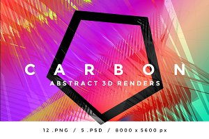 CARBON - Abstract 3D Renders