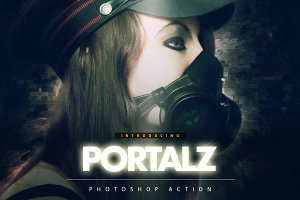 Portalz Photoshop Action