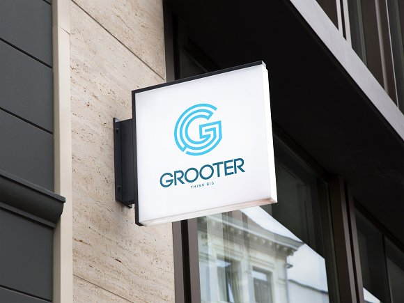 GROOTER Sports Logo in Logo Templates
