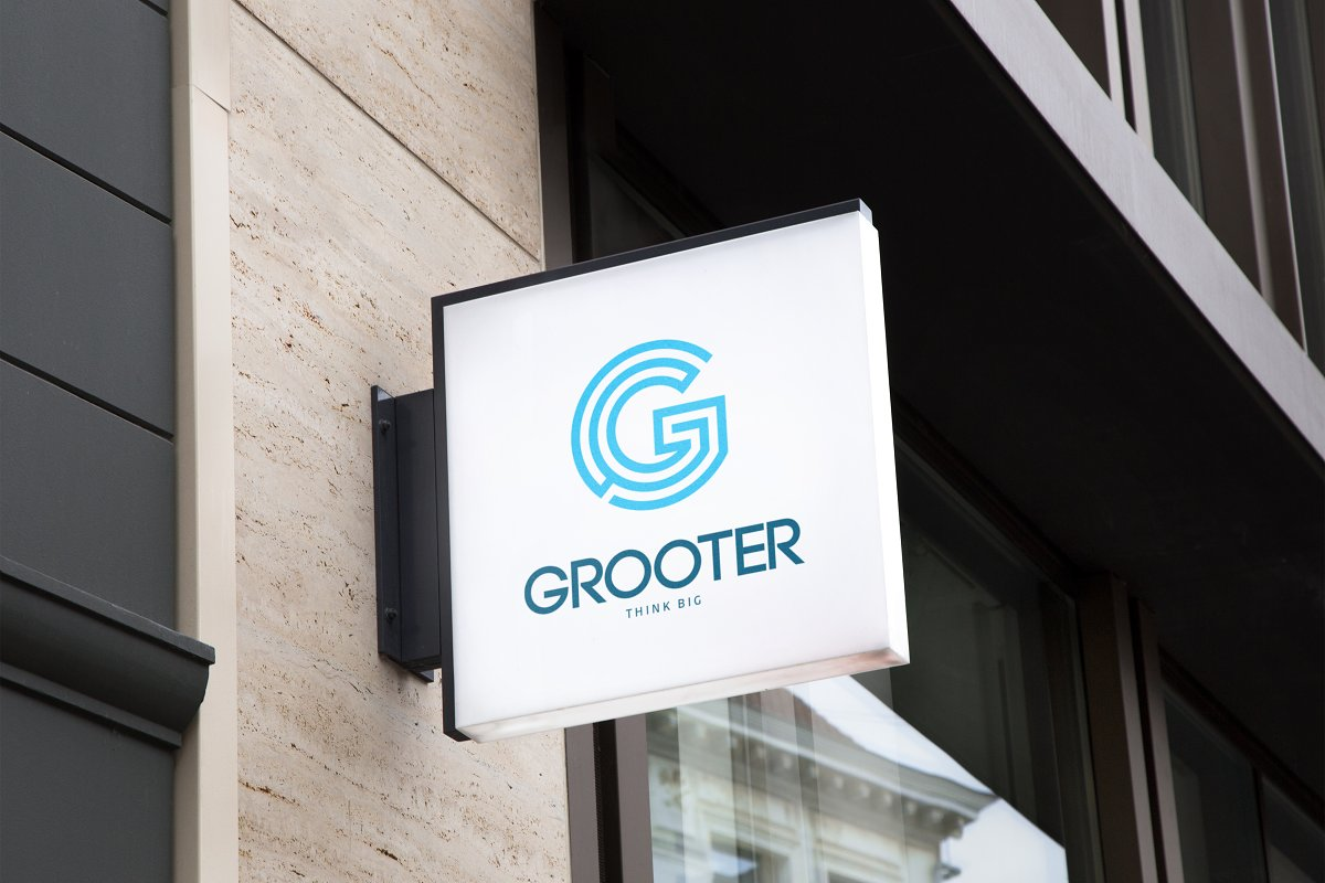 GROOTER Sports Logo in Logo Templates - product preview 8
