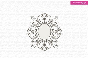 Luxury Wedding Logo Template