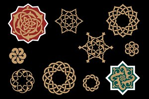 Arabic Design Elements