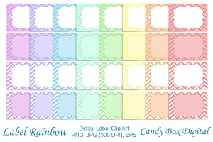 A Rainbow of Labels