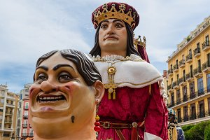Giants and Big Heads parade, Spain
