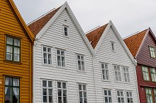 Hanseatic houses. Bryggen, Norway