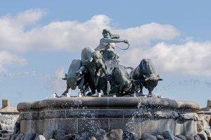Gefion fountain Copenhagen, Denmark