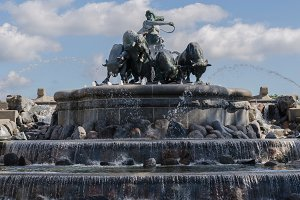 Gefion fountain. Denmark