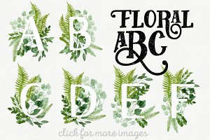 Floral ABC