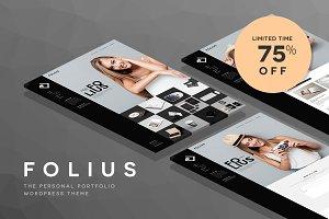 WordPress Portfolio - Folius