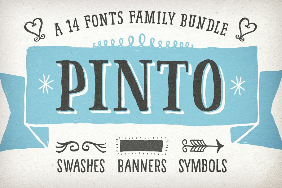 A Hand Drawn & Lettered Bundle
