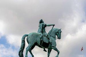 Frederick V statue, Denmark