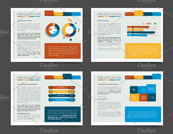 4 Presentation Business Templates