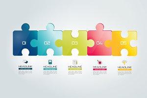 Puzzle infographic.