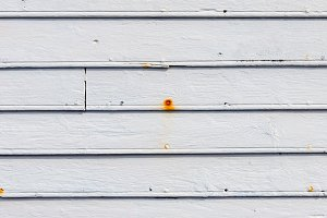 Wood planks in white. Background