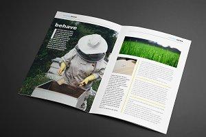 FARM-TO-TABLE Magazine Template