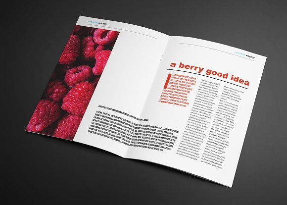 FARM-TO-TABLE Magazine Template
