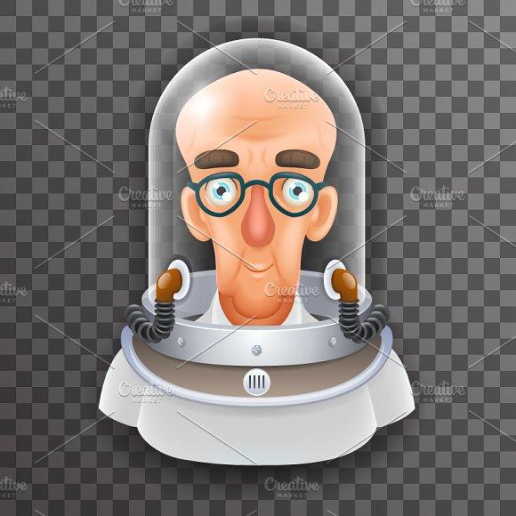 Bald Scientist Avatar