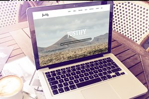 Justify - Multi Purpose Bootstrap