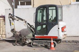 small bulldozer