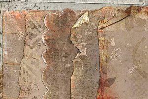 Vintage Grunge {worn papers}