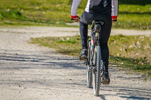 cyclist. biker