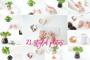 21 Styled Photos - Studio Mornings