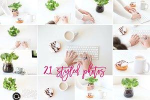 21 Styled Photos - Studio Mornings
