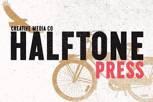 Halftone Texture Press