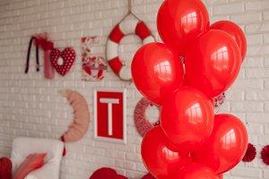 In valentine style