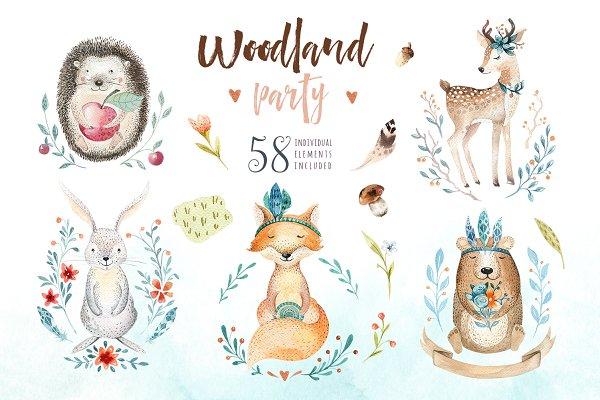 Woodland party I