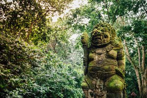 Exotic Balinese Statue
