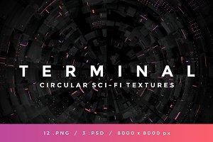TERMINAL - Circular Sci-Fi Textures