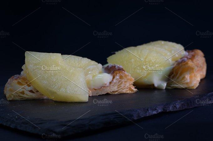 pineapple pastry.jpg - Food & Drink