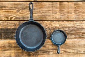 Cast-iron Frying Pans