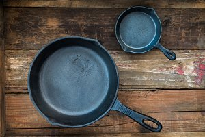 Cast-iron Frying Pans