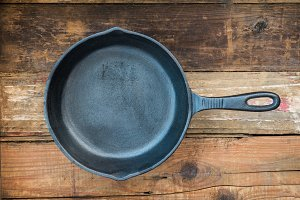 Cast-iron Frying Pan