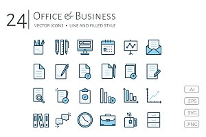 Office & Business Icon Set