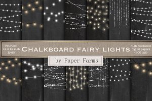 Chalkboard Fairy Lights