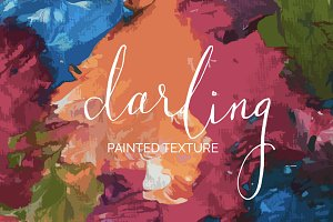 Darling Bright Painted Texture